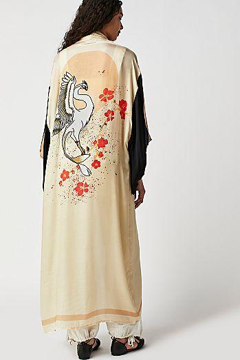 4ef24e50e1d Rising Sun Maxi Kimono