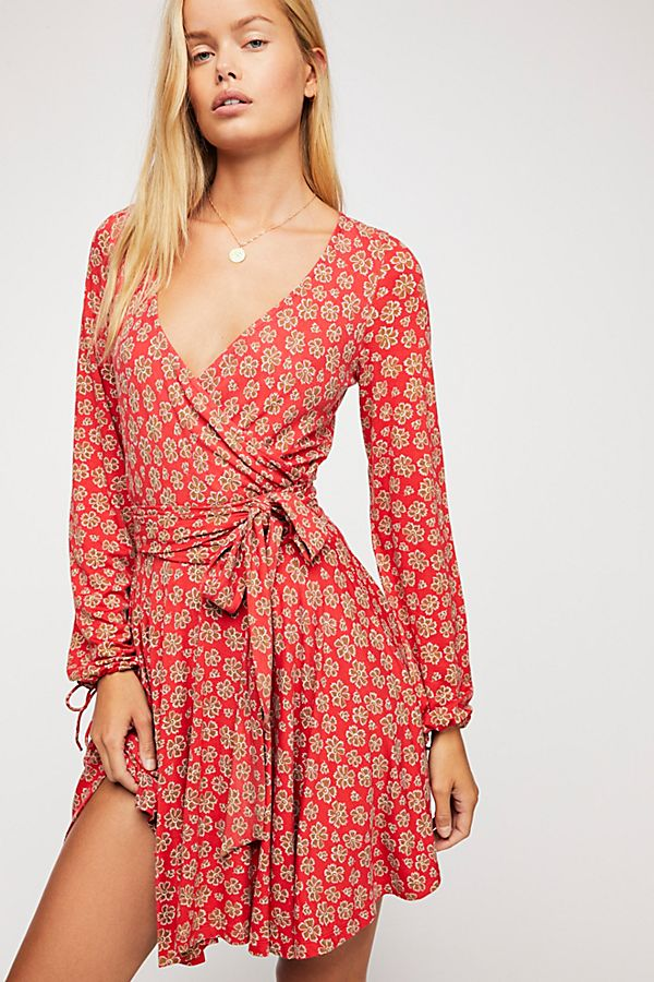 838a73004aad Pradera Wrap Mini Dress | Free People