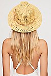Thumbnail View 3: Summerland Crochet Straw Sun Hat