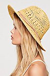 Thumbnail View 4: Summerland Crochet Straw Sun Hat