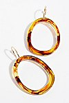 Thumbnail View 2: Marbella Resin Hoop Earrings