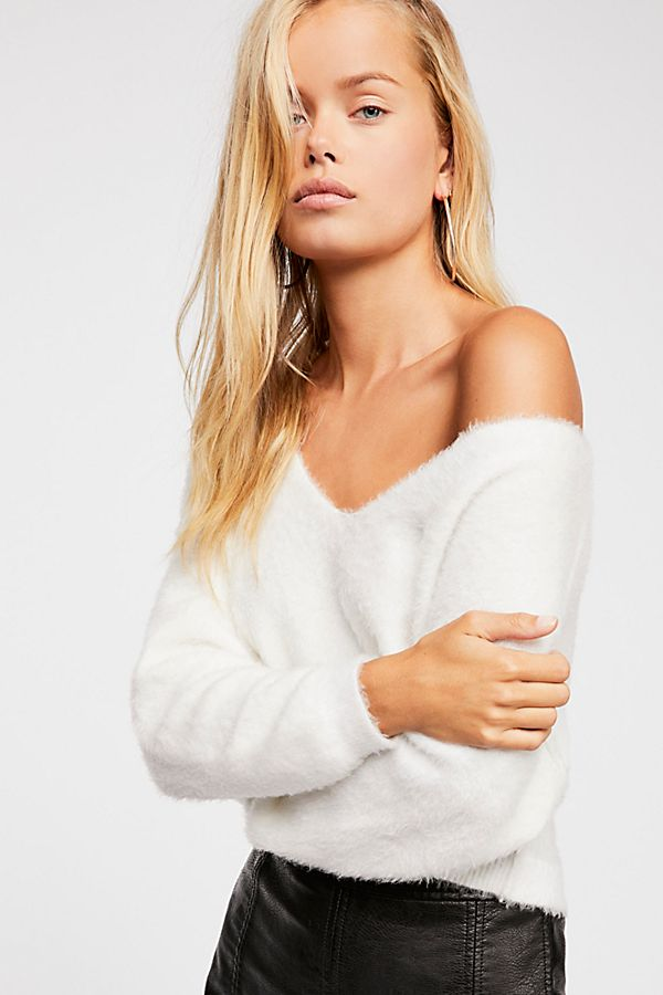 5f61919e0145b5 Princess V-Neck Sweater | Free People