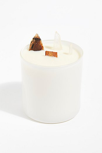 Elektric Alice Soy Quartz Crystal Candle - The White Collection