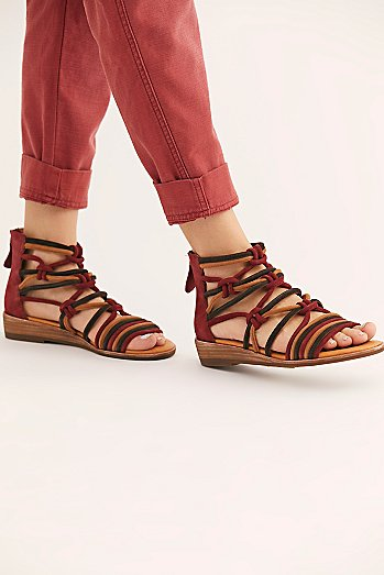 Sandy Shores Mini Wedge Sandal