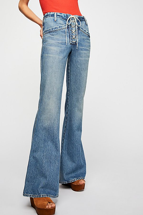 100% top quality hoard as a rare commodity famous designer brand Citizens of Humanity Sally Flare Jeans