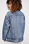 Thumbnail View 3: Levi's Baggy Trucker Denim Jacket