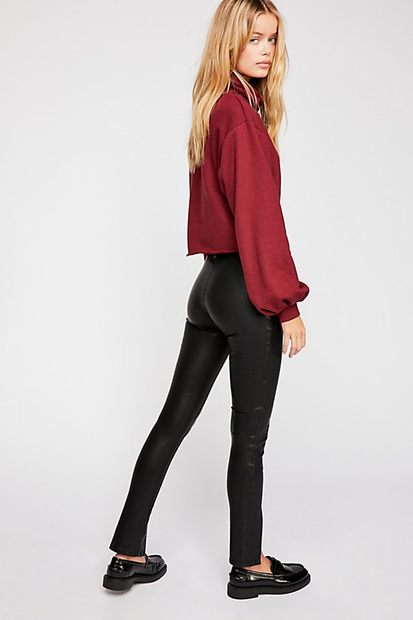 Slide View 2: Black Magic Vegan Skinny Trousers