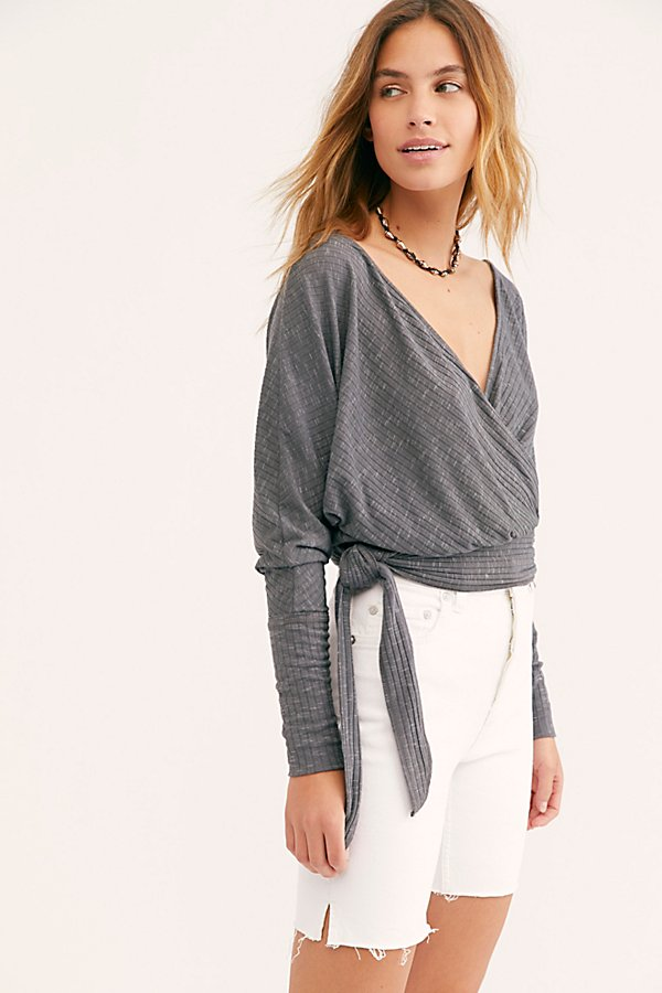 Slide View 1: We The Free East Coast Wrap Top