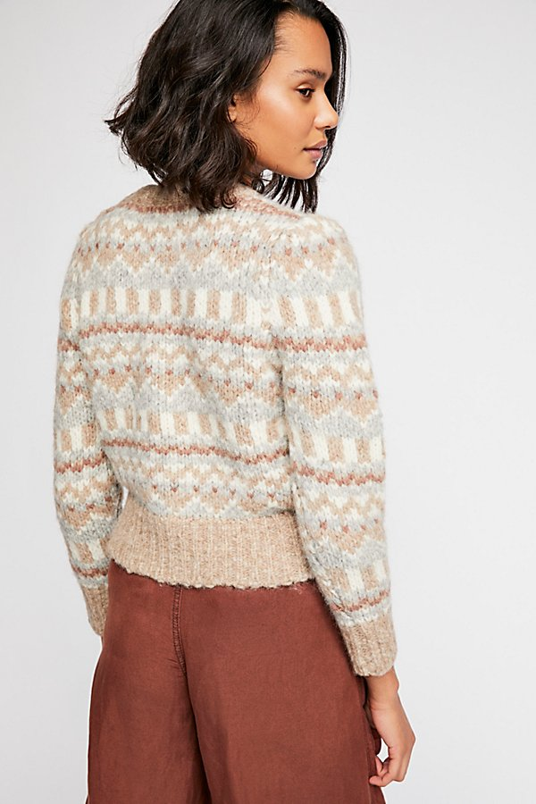 Slide View 2: Cropped Pullover Sweater