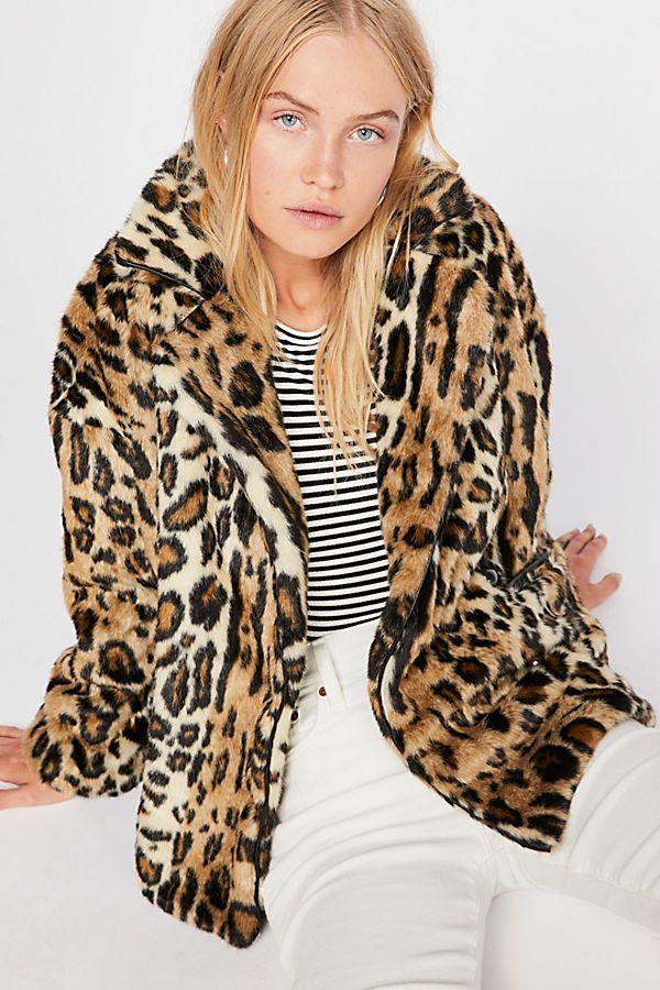 2e4ac0b229e2 Slide View 1  Kate Leopard Coat