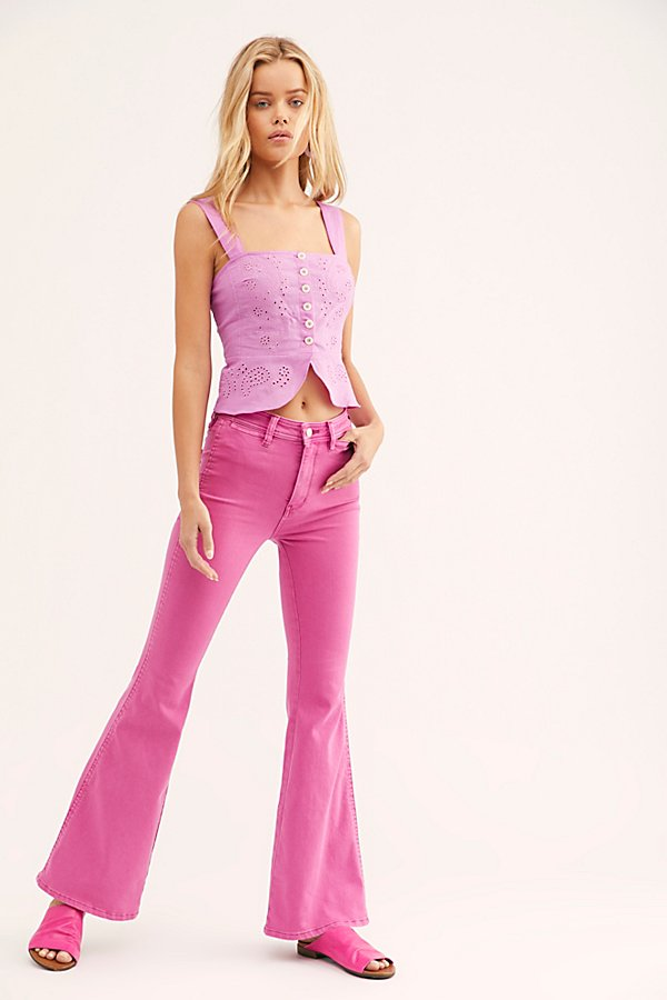 Slide View 1: Brooke Flare Jeans