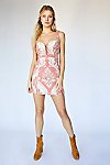 Thumbnail View 3: Brocade Tapestry Mini Dress
