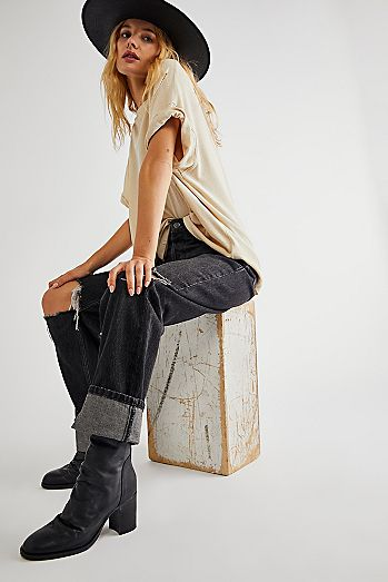 c8e586eebca81 Fashionable Boots for Women | Leather, Suede & More | Free People