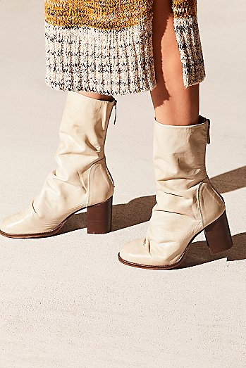 Elle Block Heel Boot