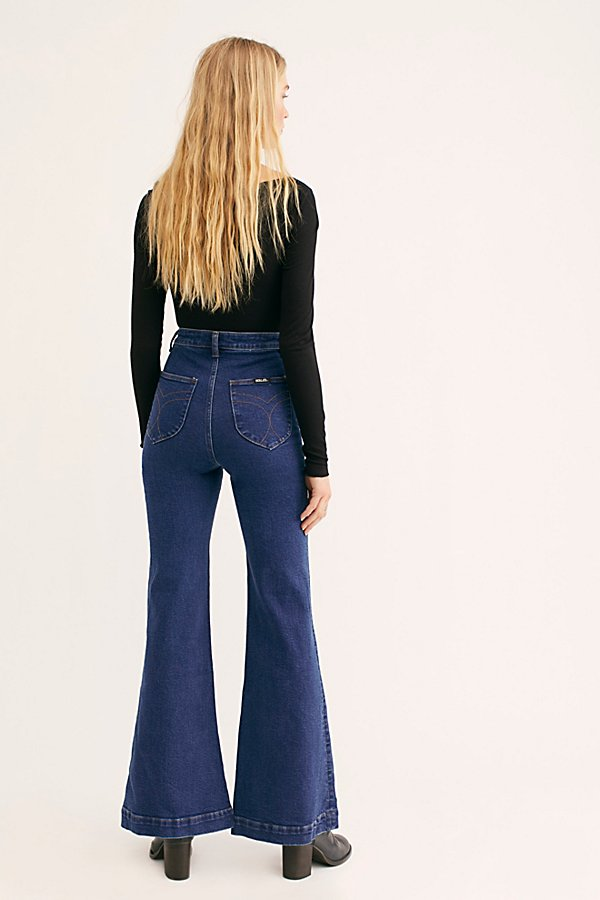 Slide View 3: Rolla's East Coast Flare Jeans