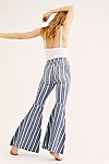 Thumbnail View 2: Just Float On Printed Flare Jeans