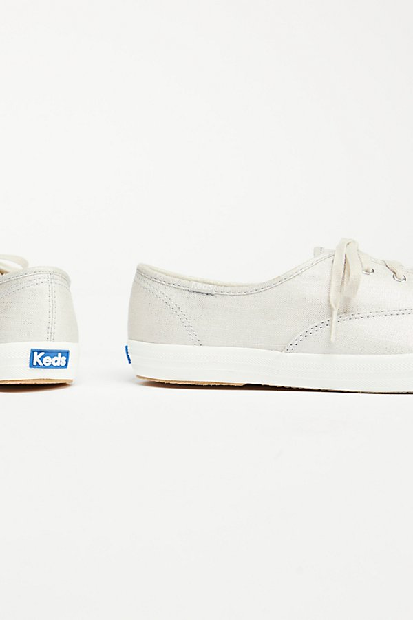Slide View 3: Keds Champion Metallic Trainer
