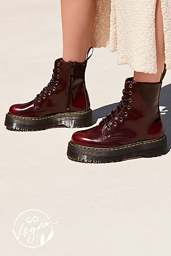 Dr. Martens Vegan Jadon II Lace-Up Boot