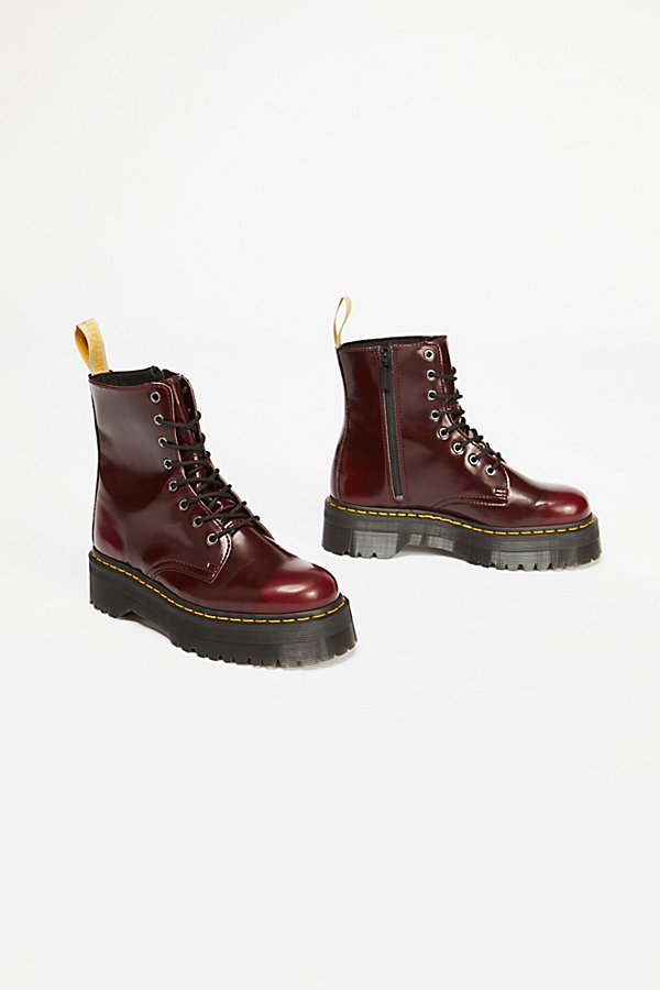 Slide View 2: Dr. Martens Vegan Jadon II Lace-Up Boot