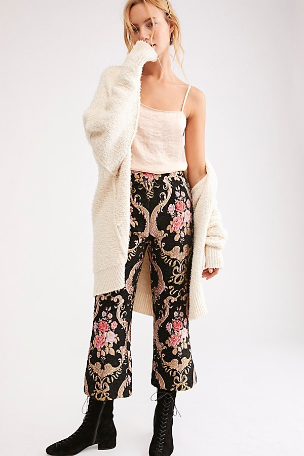 Slide View 1: Brocade Flared Pant