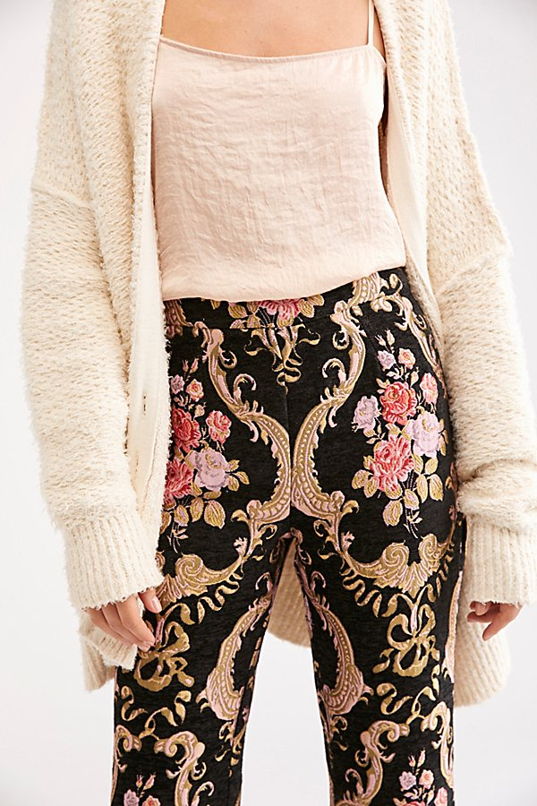 Slide View 3: Brocade Flared Pant