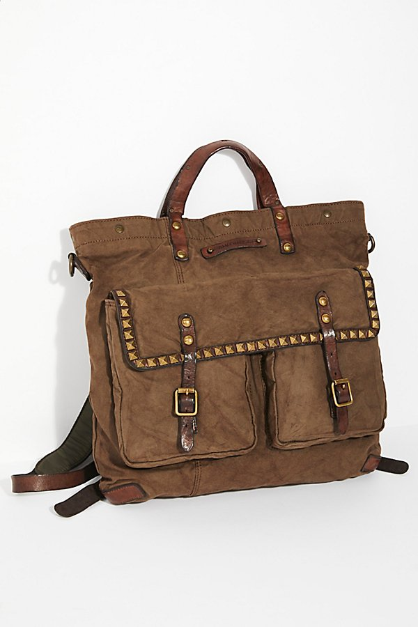 Slide View 2: Capua Distressed Backpack