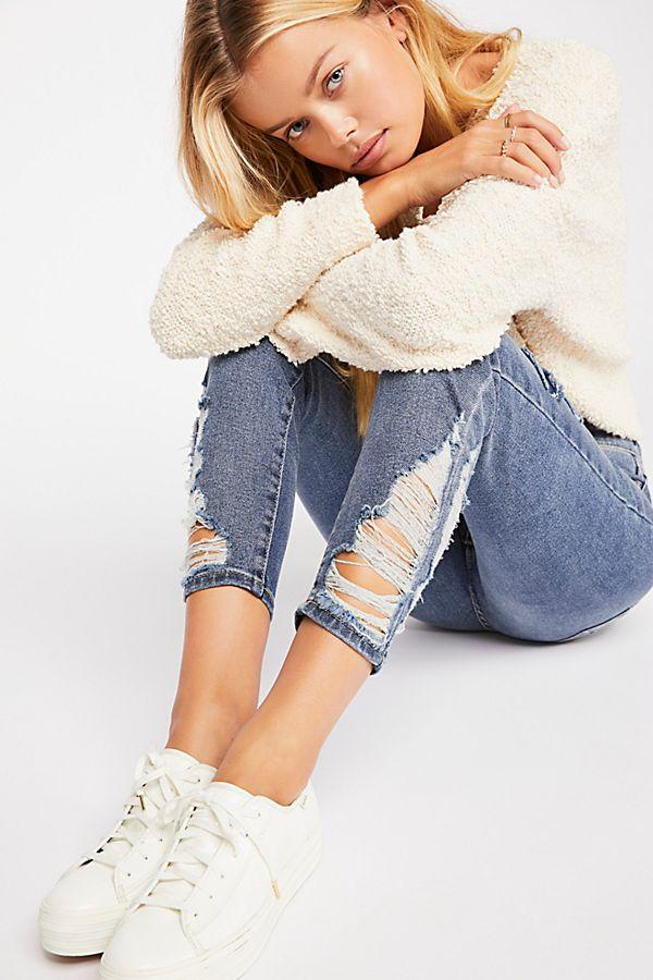 93da91f21563 About A Girl High-Rise Skinny Jeans