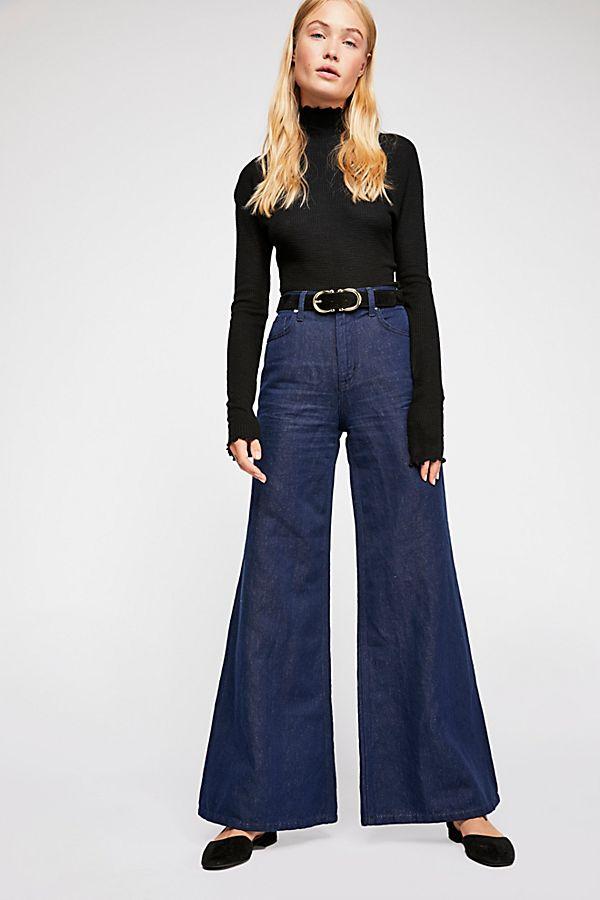 a888d6c60a8 Super High-Rise Wide-Leg Jeans