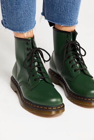 Dr martens 1460 smooth leather lace up boots | Boots, Cute
