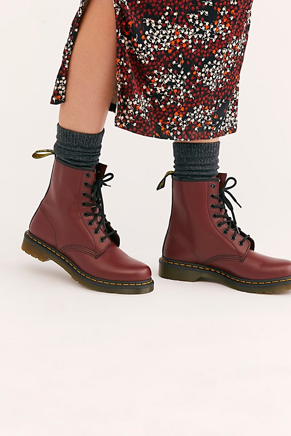 Slide View 1: Dr. Martens 1460 Smooth Lace-Up Boot
