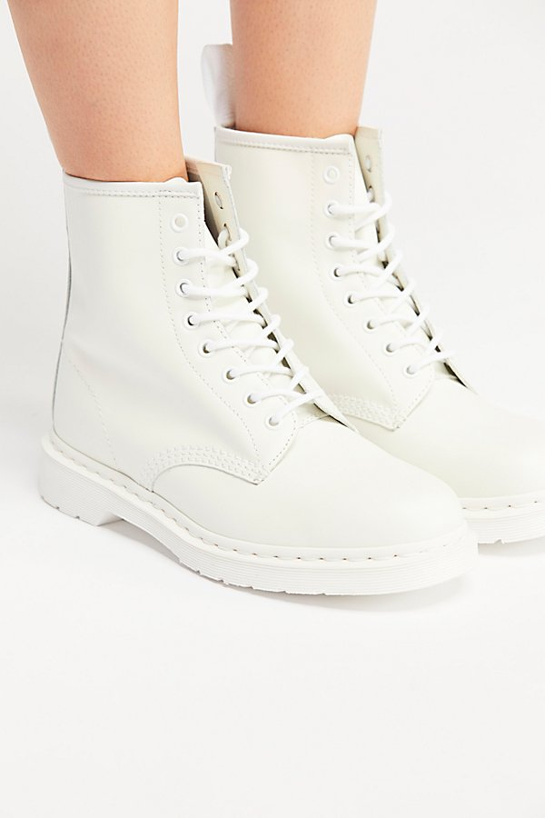 Slide View 3: Dr. Martens 1460 Mono Lace-Up Boot
