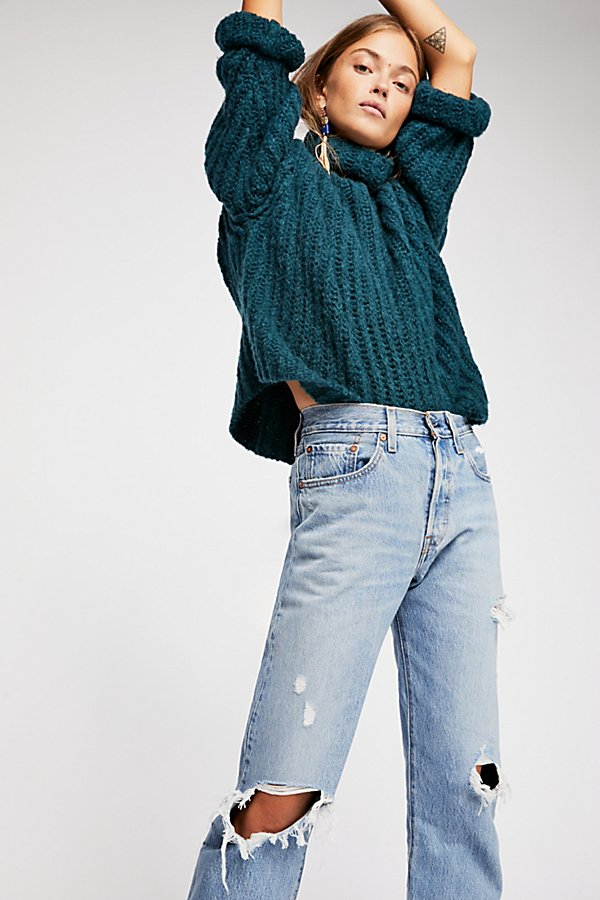 Slide View 1: Levi's 501 Crop Jeans
