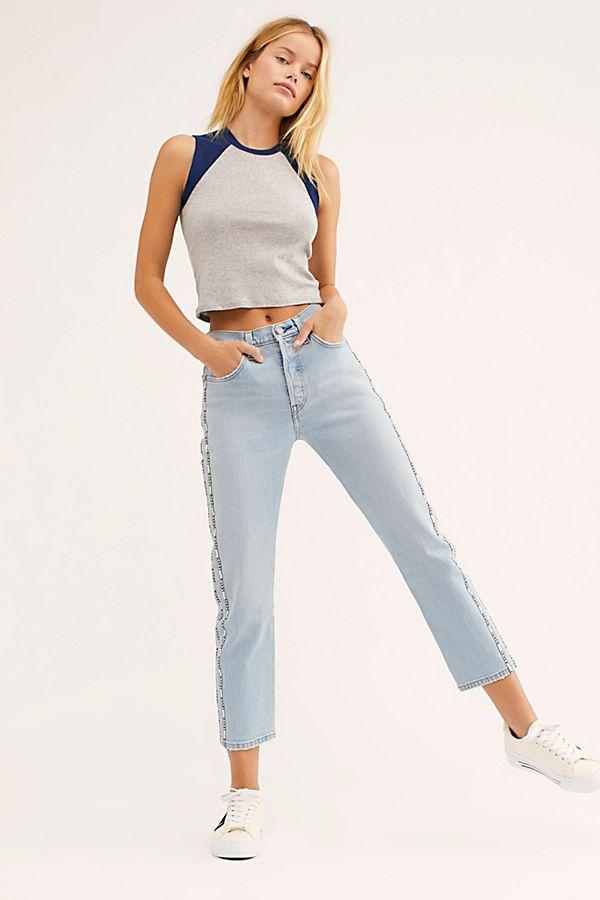e810143c679 Slide View 2: Levi's 501 Crop Jeans