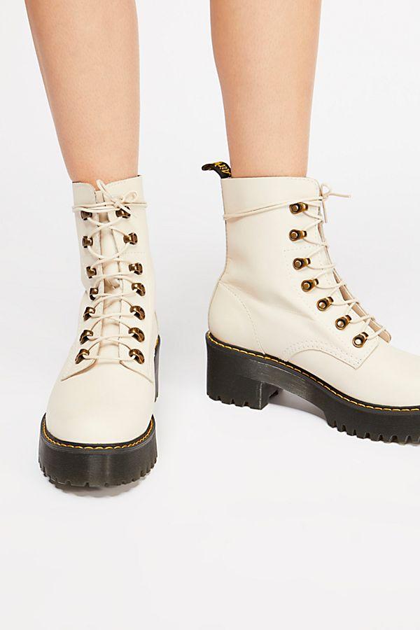 dd0b66584 Slide View 5: Dr. Martens Leona Platform Ankle Boot