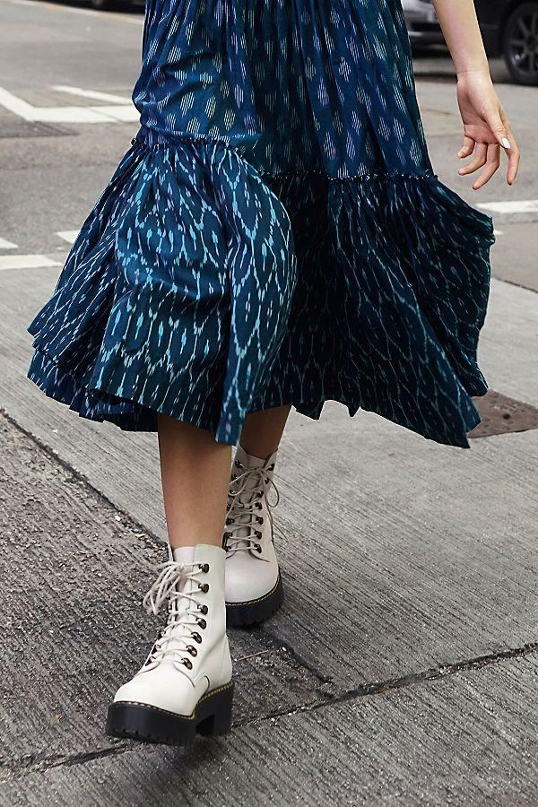 0166f0d80 Slide View 1: Dr. Martens Leona Platform Ankle Boot