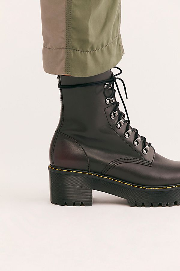 e3973c5337e Dr. Martens Leona Platform Ankle Boot