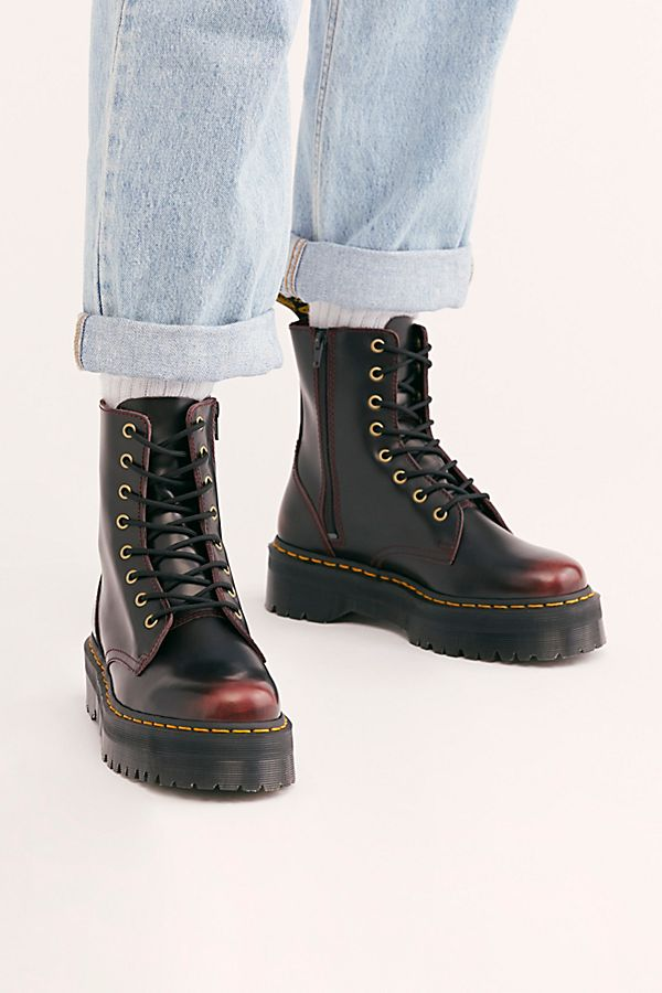 store how to buy on feet images of Dr. Martens Jadon Lace-Up Boot