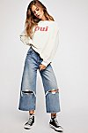 Thumbnail View 4: Levi's High Water Wide-Leg Jeans