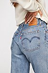 Thumbnail View 6: Levi's High Water Wide-Leg Jeans