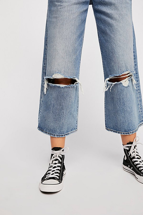 Slide View 7: Levi's High Water Wide-Leg Jeans