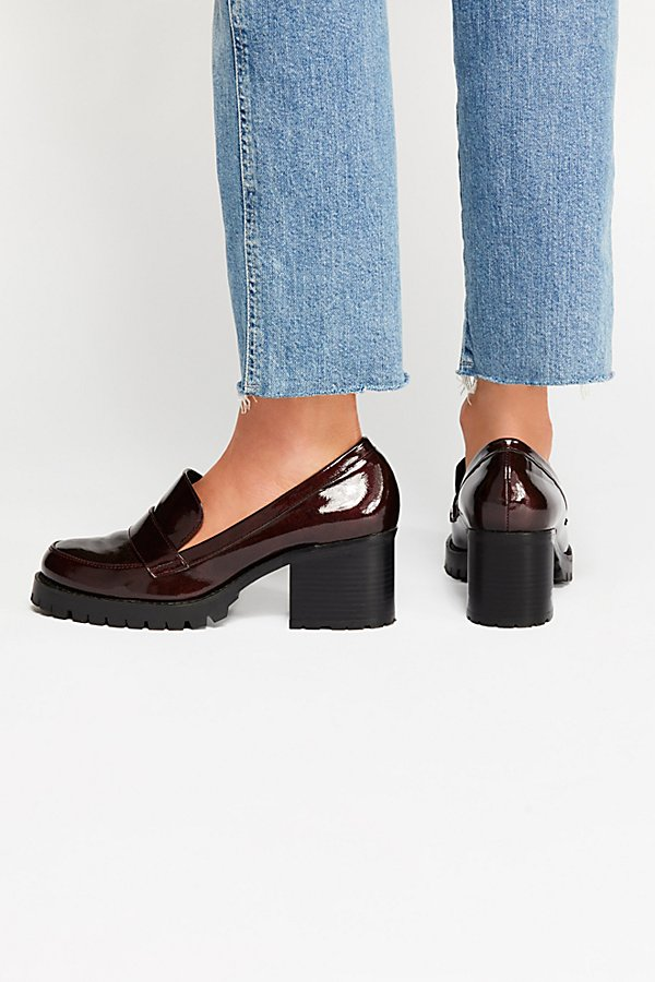 Slide View 4: Lexden Block Heel Loafer
