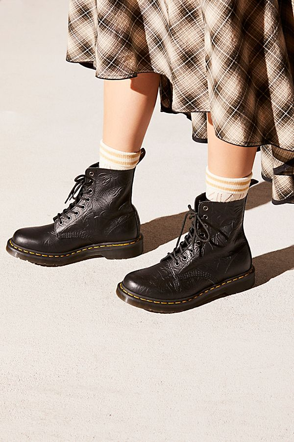 e8d73e469517 Dr. Martens 1460 Pascal Floral Embossed Boot | Free People