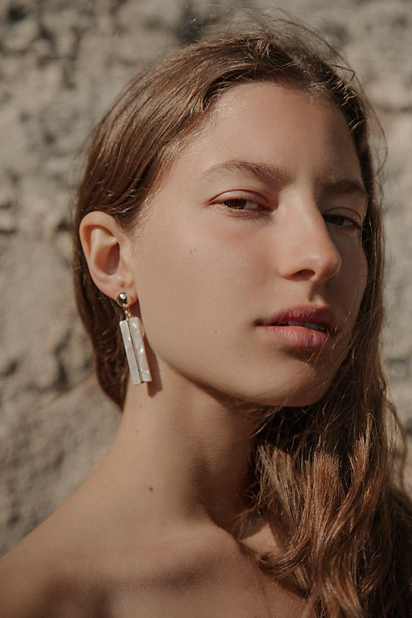 Slide View 1: Resin Bar Single Earring