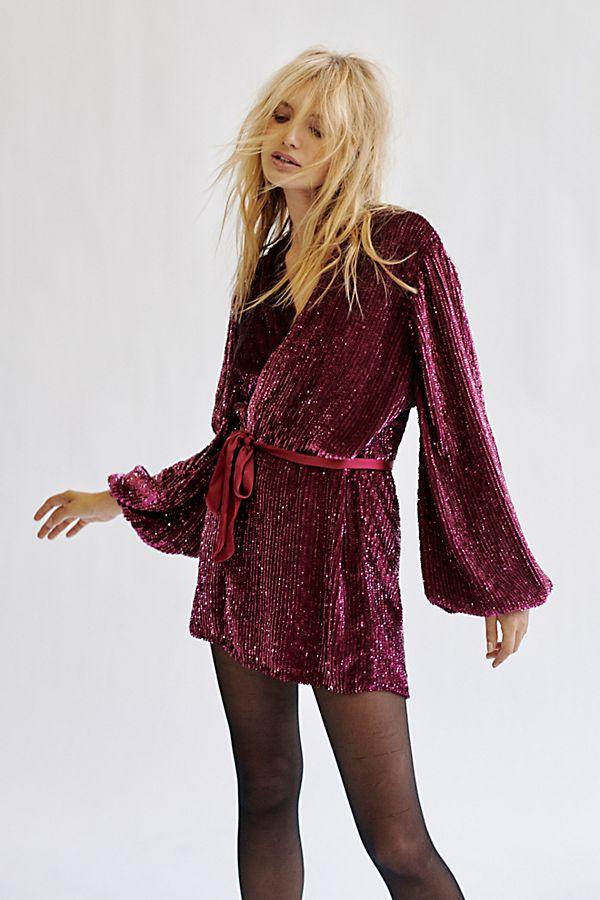 5e975235ee Annmarie Sequins Mini Dress