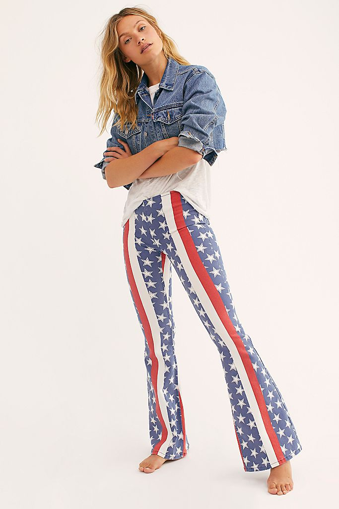 25+ Free People Striped Bell Bottoms Images