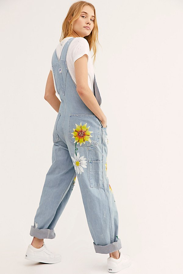 Slide View 2: Rialto Jean Project Floral Painted Overalls