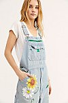 Thumbnail View 3: Rialto Jean Project Floral Painted Overalls
