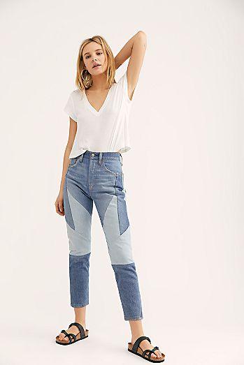 b2d464301cd06 Womens Skinny Jeans  High Rise
