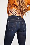 Thumbnail View 4: Levi's Curvy Straight Crop Jeans