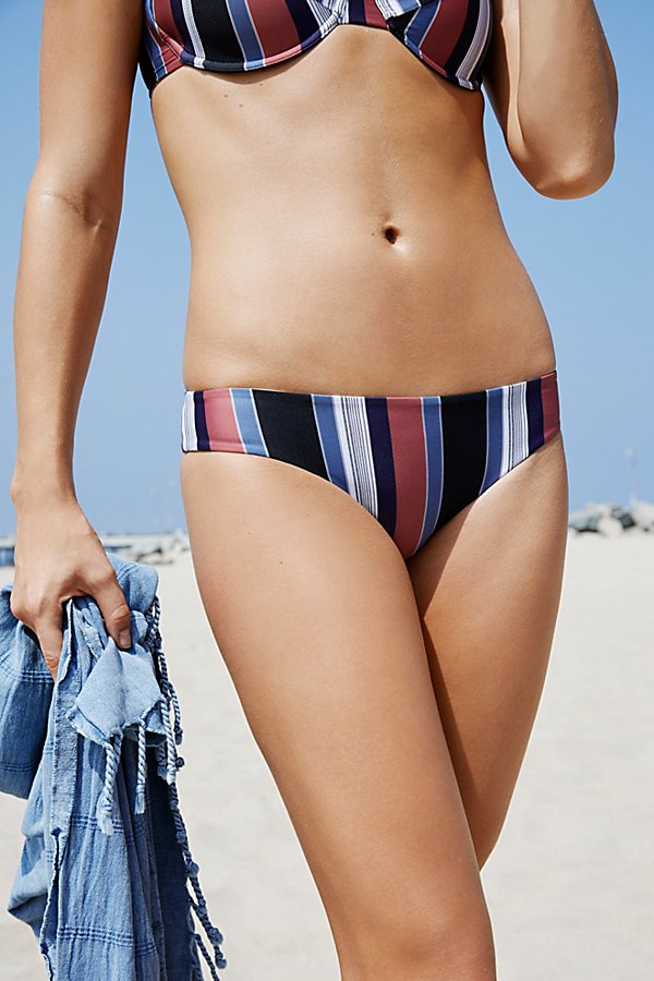 Slide View 1: Ali Striped Bikini Bottom